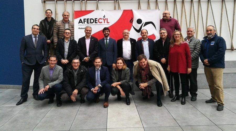 El presidente de la UFEC Gerard Esteva comparte con Afedecyl el modelo de Gestión de las Federaciones en Cataluña