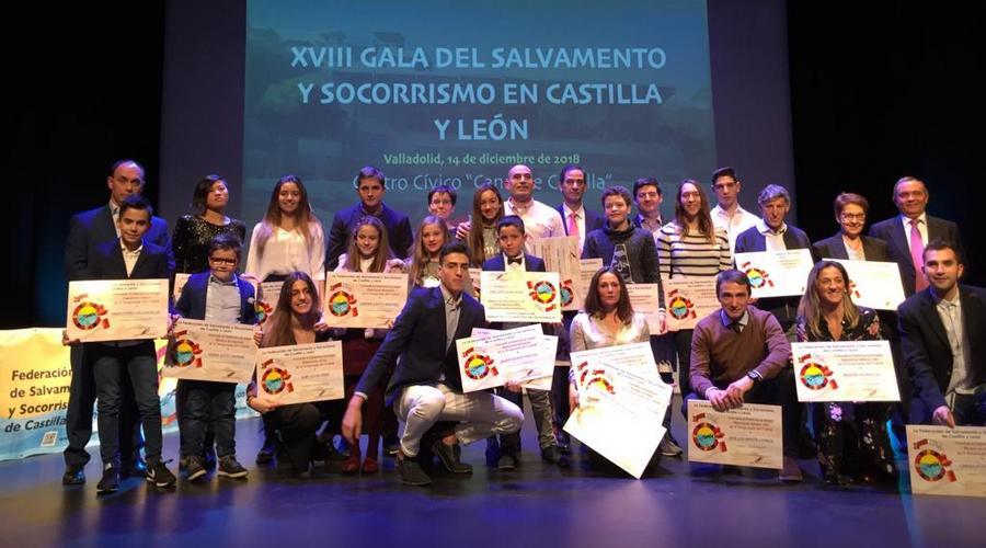 Salvamento y Socorrismo reconoce a los mejores de la temporada en su XVIII Gala