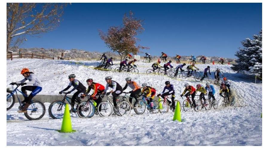 Teresa Infante, campeona de España de ciclocross en la categoría Master 50 Fémina