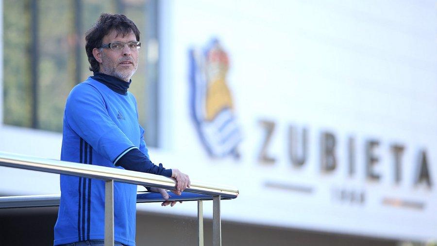 El director de fútbol base de la Real Sociedad, en las Jornadas de Actualización para Entrenadores de Castilla y León
