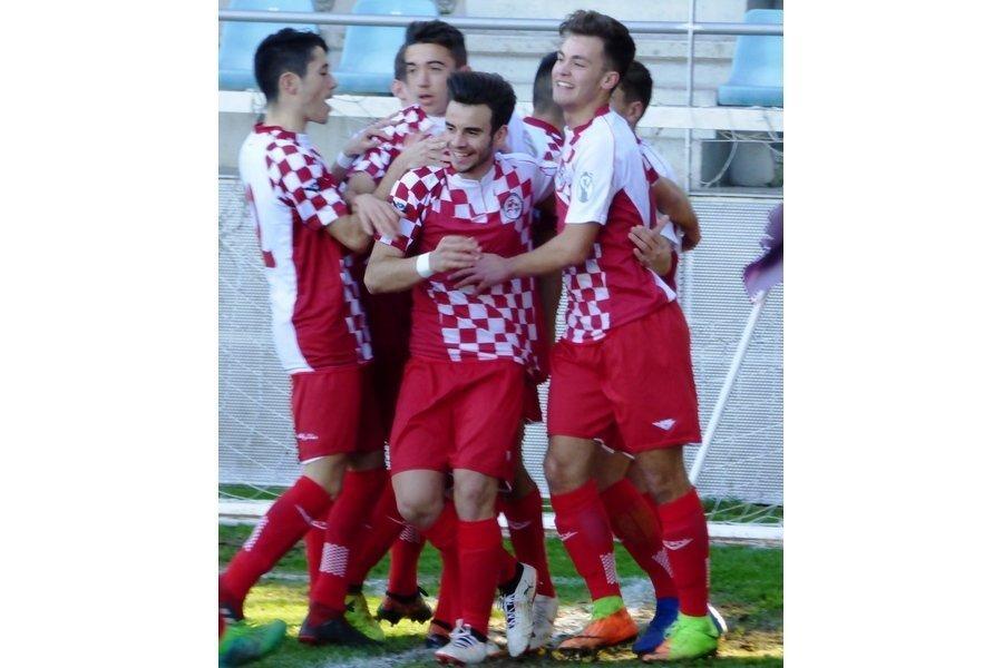 Las selecciones de Castilla y León de fútbol finalizan la I Fase de nacional con tres puntos en el casillero