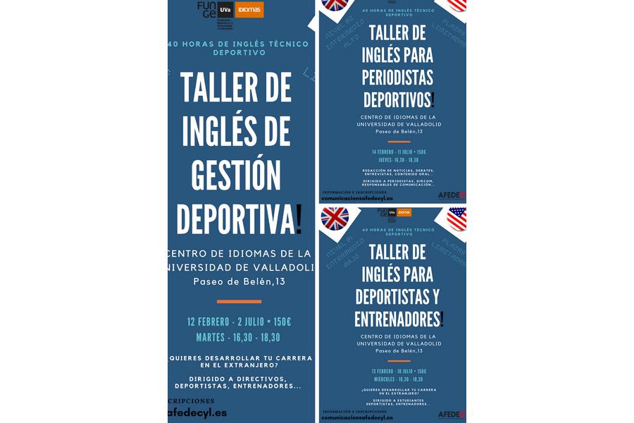 Afedecyl pone en marcha tres Talleres de Inglés deportivo en el Centro de Idiomas de la Universidad de Valladolid
