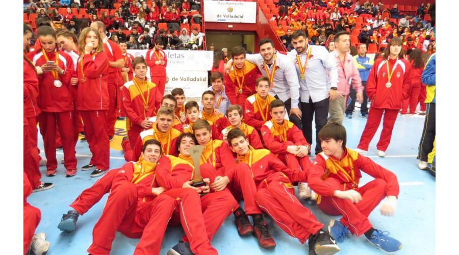 17 selecciones de Castilla y León participan en 2019 en los campeonatos de España en edad escolar