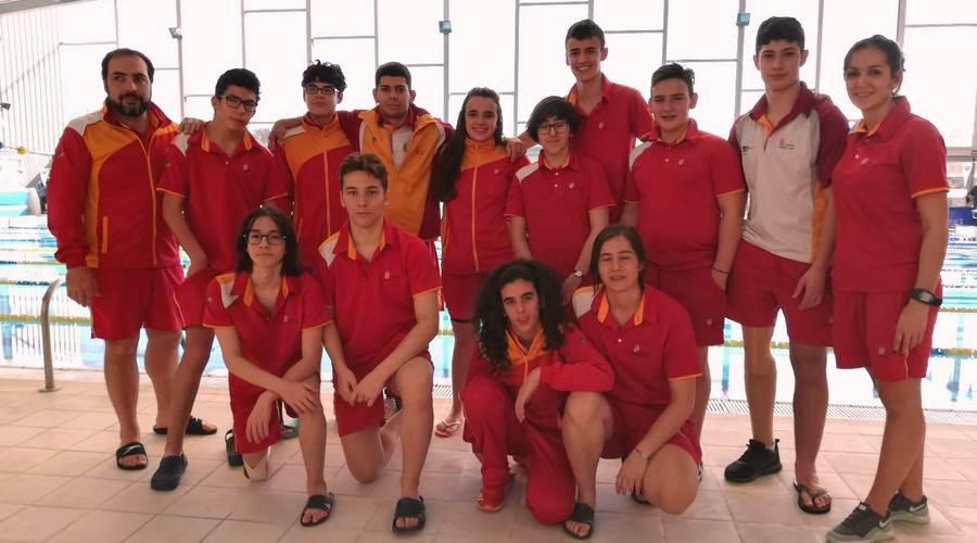 La selección promesa de Castilla y León, tercera en el Campeonato de España AXA
