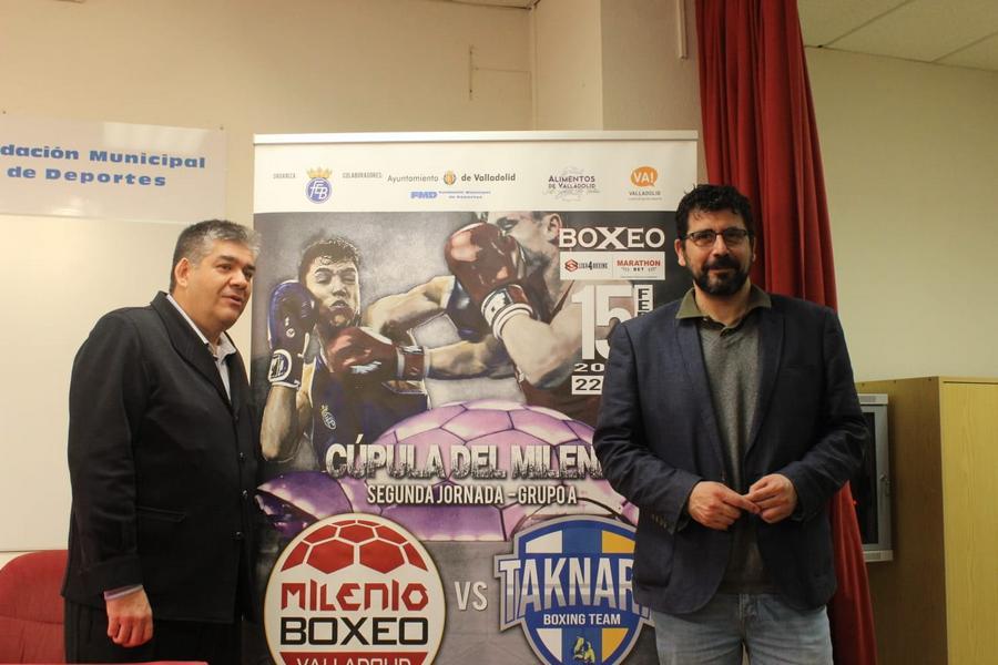 La Cúpula del Milenio de Valladolid acoge la Liga Marathonbet de boxeo el 15 de febrero