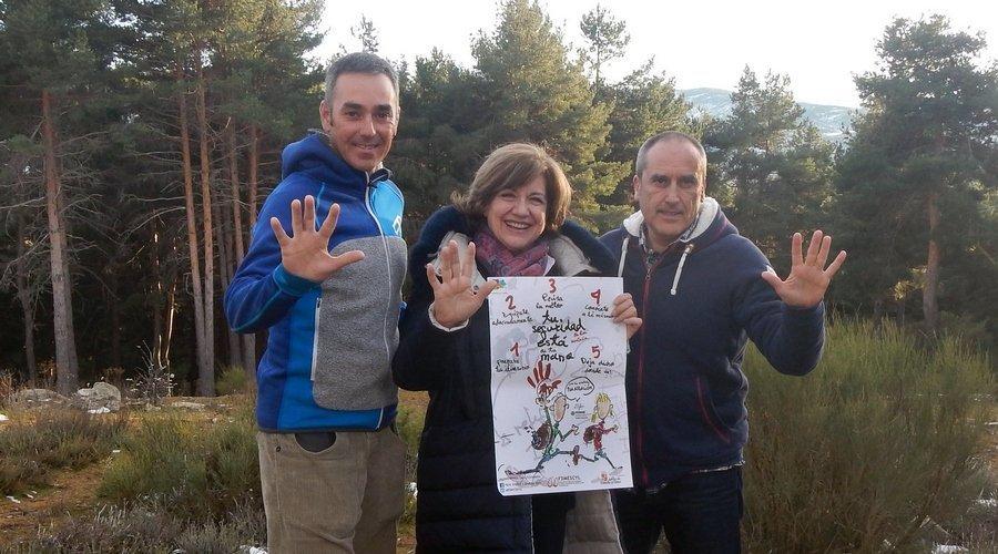 La Federación de Montaña promueve la seguridad entre los visitantes del Parque Regional de Gredos