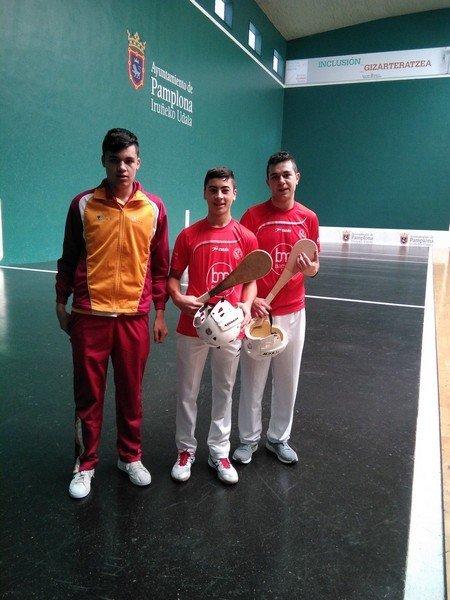 Castilla y León consigue dos bronces en paleta cuero y mano individual en el campeonato de España celebrado en Pamplona