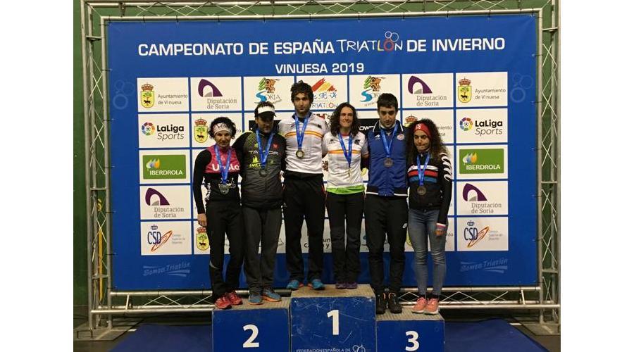 Enara Oronoz y Pello Osoro estrenan la temporada nacional con victoria en Vinuesa