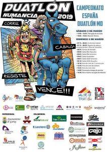 Campeonato de España de Duatlón de Media Distancia #Numancia @ Garray. Soria. | Garray | Castilla y León | España