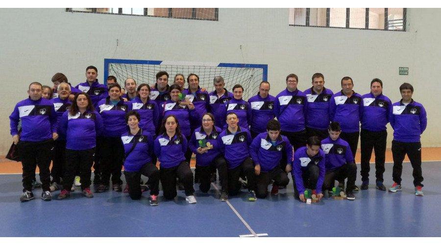 Unos 400 deportistas con discapacidad intelectual disputan la Liga Special Olympics en Palencia