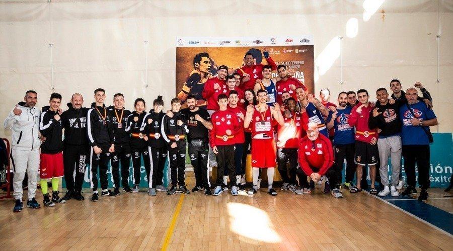 El Club Boxeo Valladolid se proclama campeón de España por clubes en Ponferrada