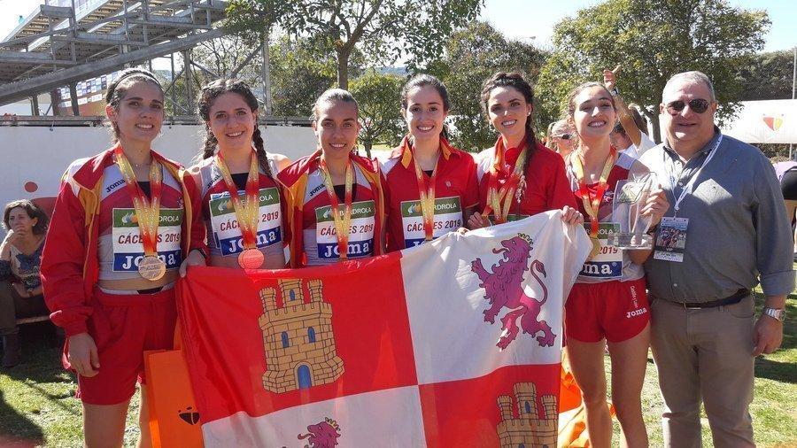 Castilla y León consigue tres oros, una plata y un bronce en el campeonato de España de Cross