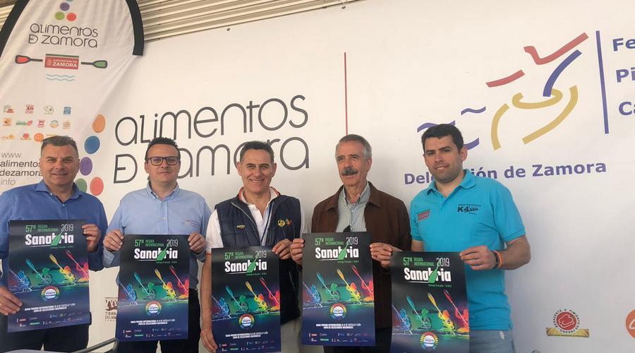 Zamora presenta la 57 Regata Internacional de Sanabria en Sevilla en el marco del campeonato de España
