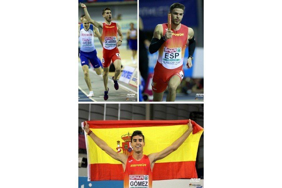 Castilla y León acaba el Europeo de Glasgow con cuatro medallas de las seis que ha conseguido la selección española