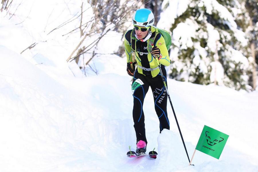 El esquiador vallisoletano Javier Gurpegui conquista la Alpen Cup júnior logrando tres podiums