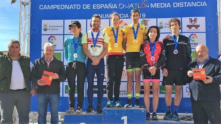 Más de 400 triatletas participan en Soria  en el campeonato de España de Duatlón