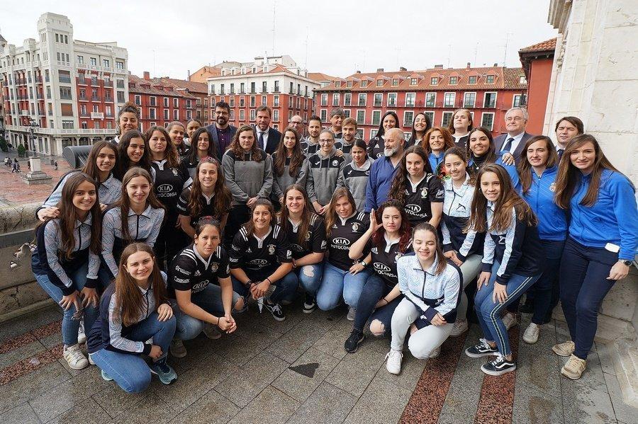 Los éxitos deportivos en Valladolid tienen nombre de mujer