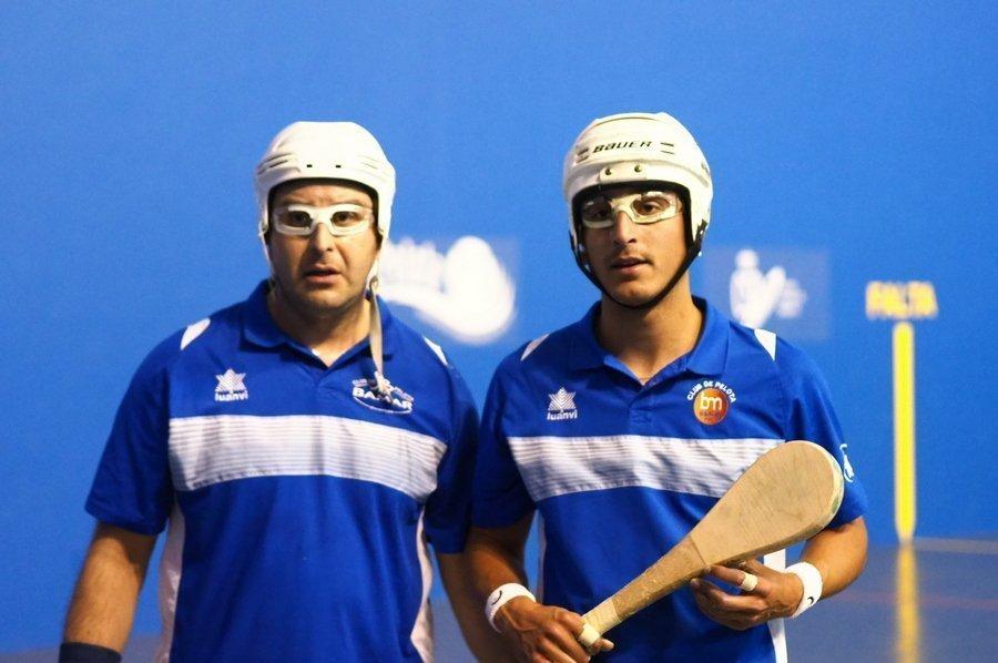 Carlos Baeza y Álvaro Medina, subcampeones de España de Paleta Cuero, en Íscar