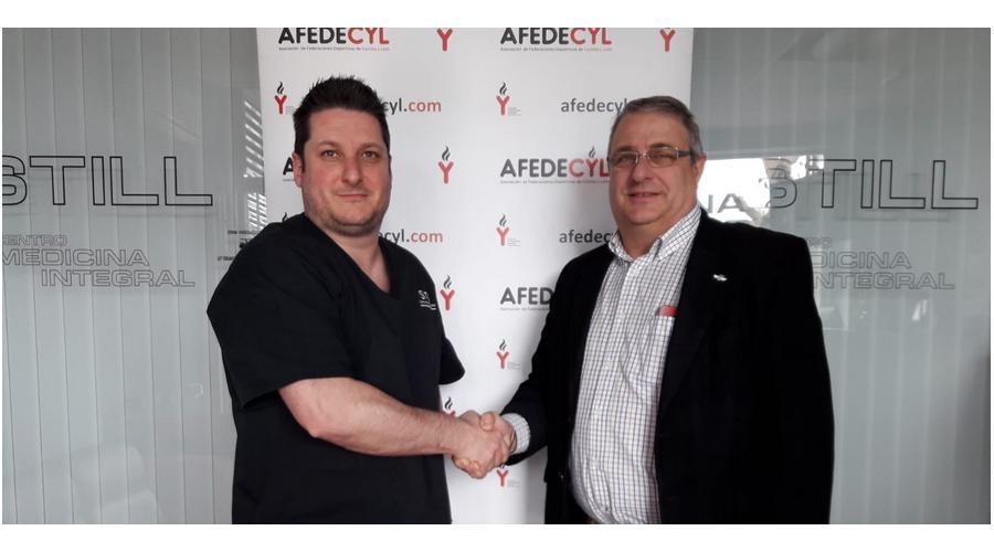 Afedecyl firma un convenio de colaboración con el centro de medicina deportiva STILL, de León