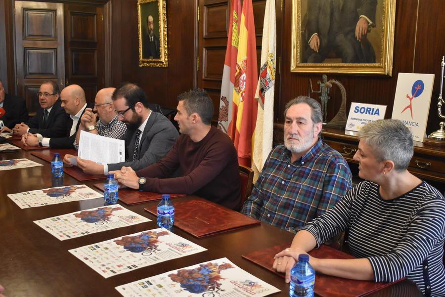 Más de 1.700 deportistas se dan cita en Soria para participar en el campeonato de España de Duatlón