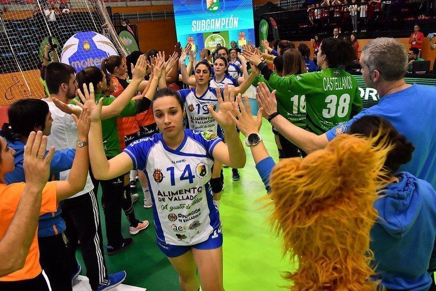 El Aula Alimentos de Valladolid se proclama subcampeón de España de la Copa de  la Reina de Balonmano