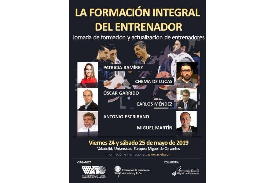 La figura del entrenador a análisis, en un Congreso organizado por la Asociación de Entrenadores de Baloncesto y la Federación de Castilla y León