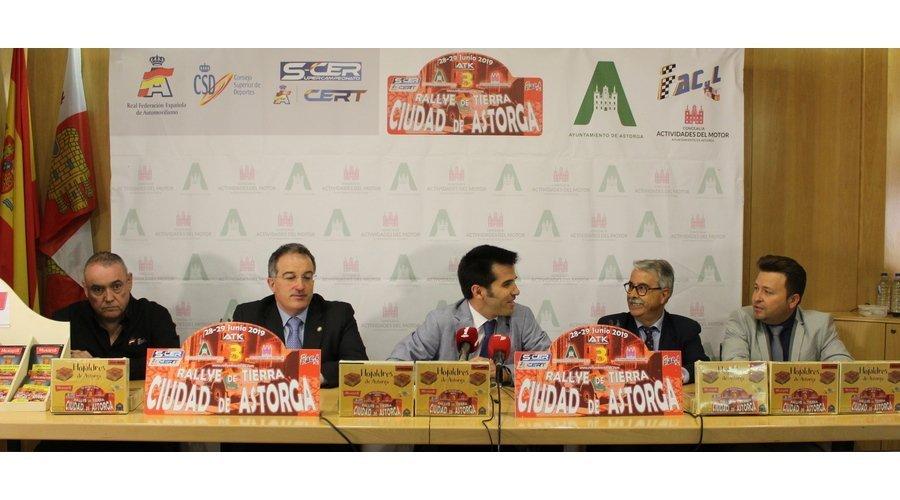 Más de cien pilotos de asfalto y tierra participarán en III Rally 'Ciudad de Astorga', única prueba nacional en Castilla y León