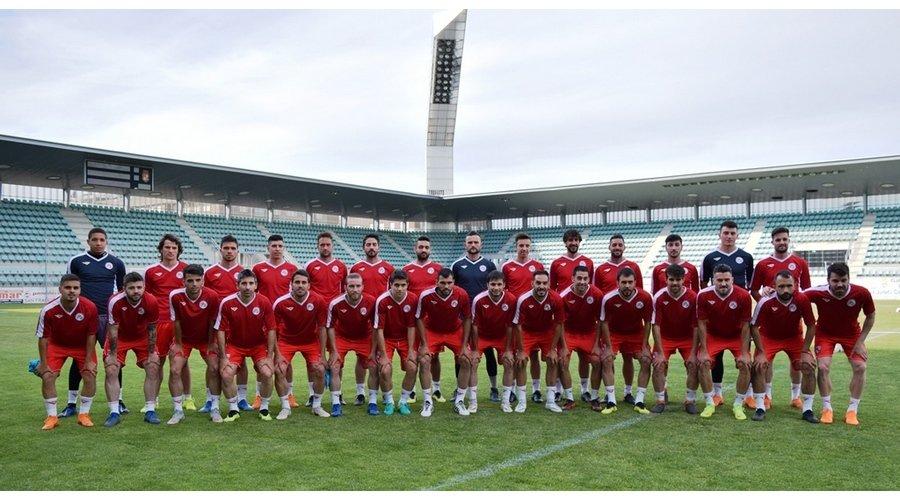 La Selección de Castilla y León de fútbol se entrena en La Balastera para preparar la Copa de regiones UEFA