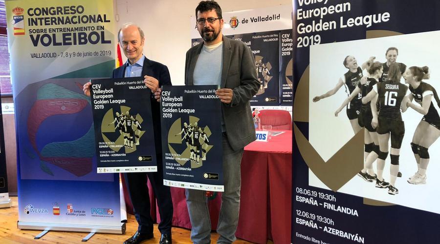 Valladolid acogerá dos partidos de la 'European Golden League' de Voleibol Femenino en el Huerta del Rey