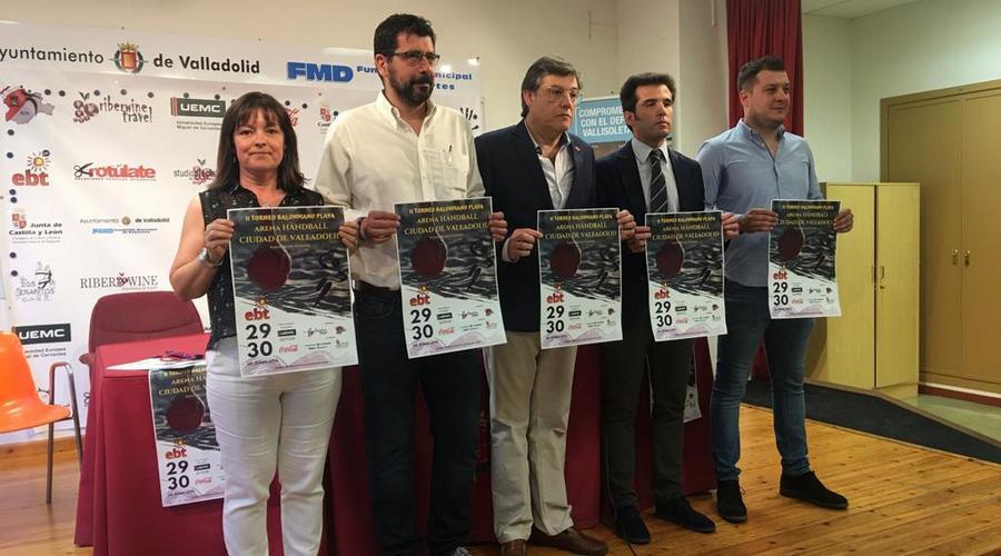 """La playa de Las Moreras acoge el II Torneo de Balonmano Playa """"Ciudad de Valladolid"""""""