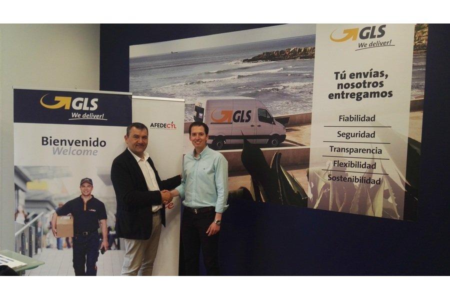 Afedecyl firma un convenio de colaboración con la agencia del proveedor paquetería GLS 'Multicentro Global S.L.'