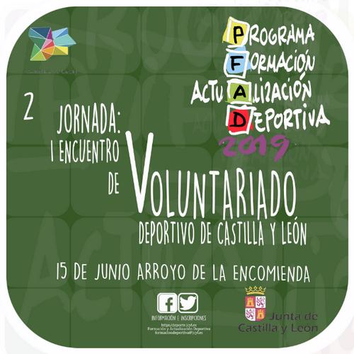 El voluntariado deportivo, a análisis en el I Encuentro de Voluntarios de Castilla y León