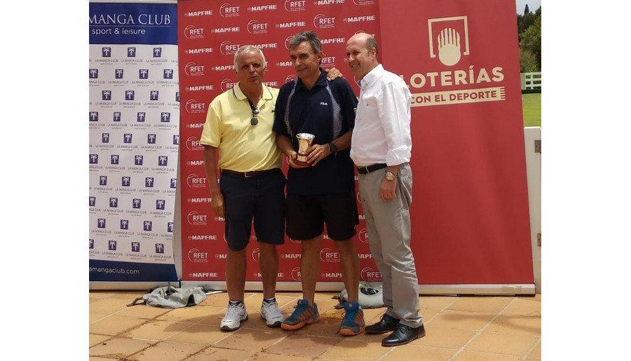 Ramón Martín-Sanz, se ha proclamado Campeón de España de la categoría Veteranos +65