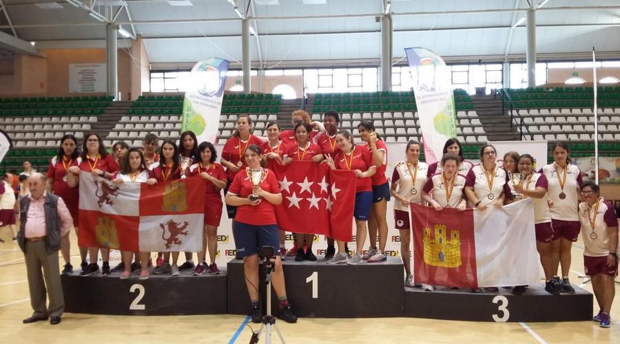 La selección de Castilla y León finaliza en quinto lugar el Campeonato de España
