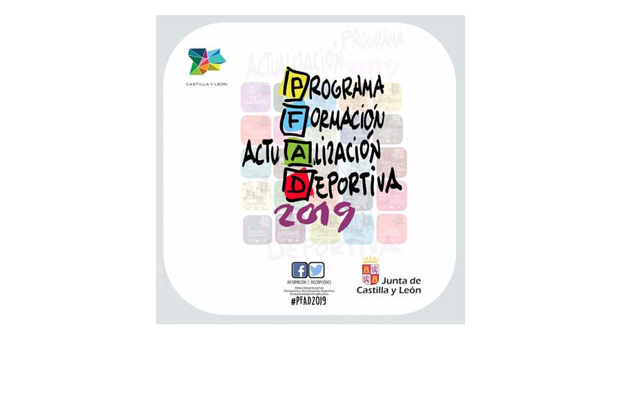 Ya está abierto el plazo de inscripción de las Jornadas de Formación y Actualización Deportiva 2019