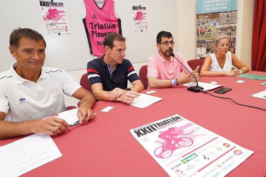 La playa de las Moreras acoge el XXII Triatlón Ciudad de Valladolid el próximo domingo 28 de julio