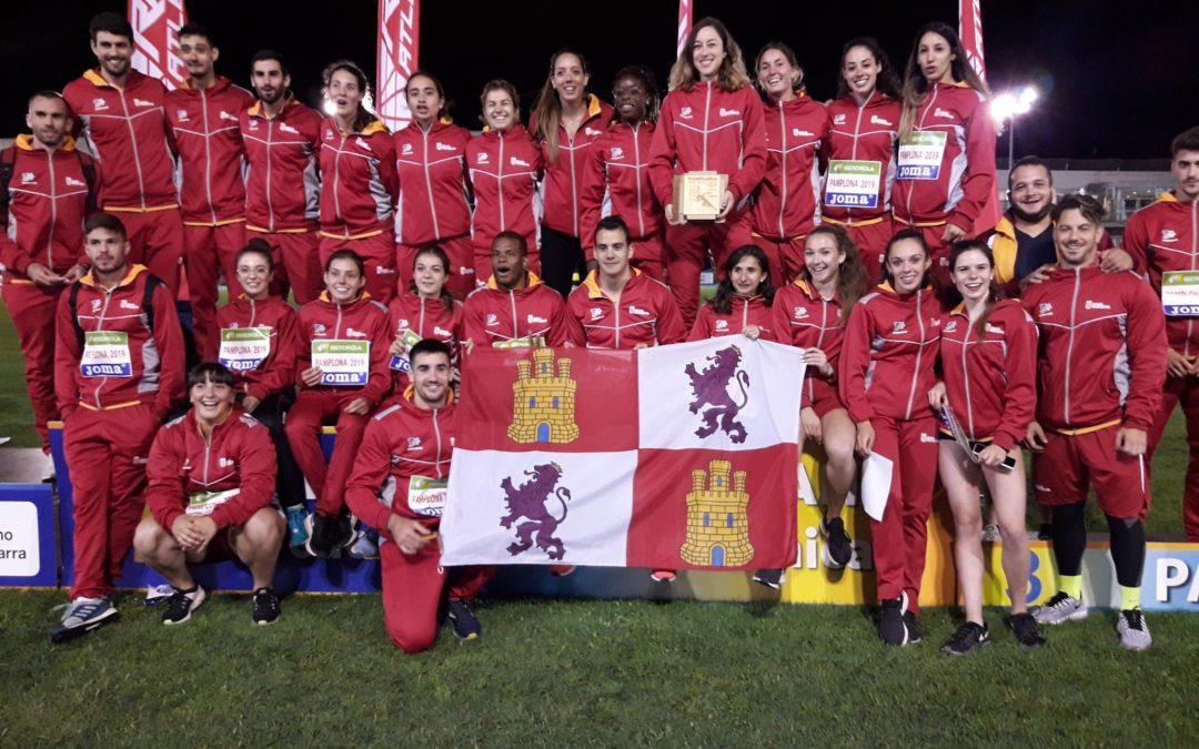 Castilla y León consigue el bronce en el campeonato de España de Atletismo celebrado en Pamplona