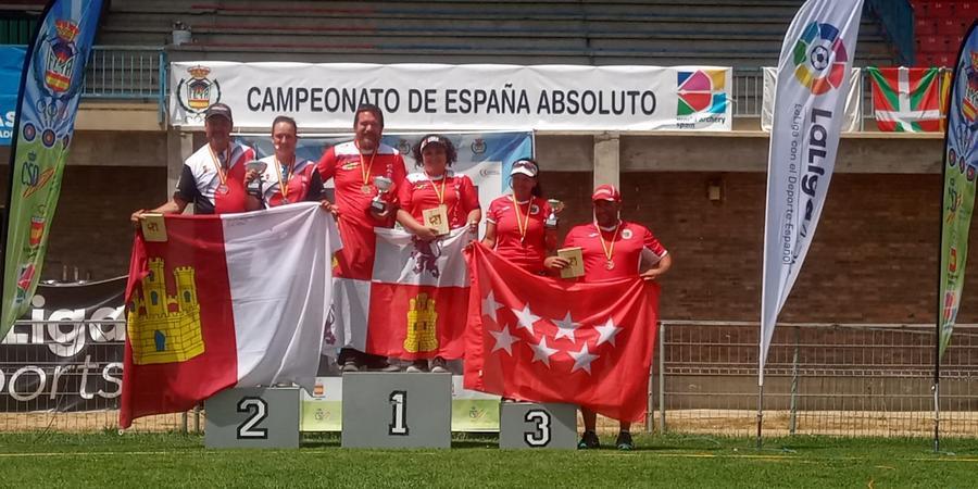 La leonesa Andrea Marcos, se proclama campeona de España de Tiro con Arco, con tres oros en individual, equipo y mixto