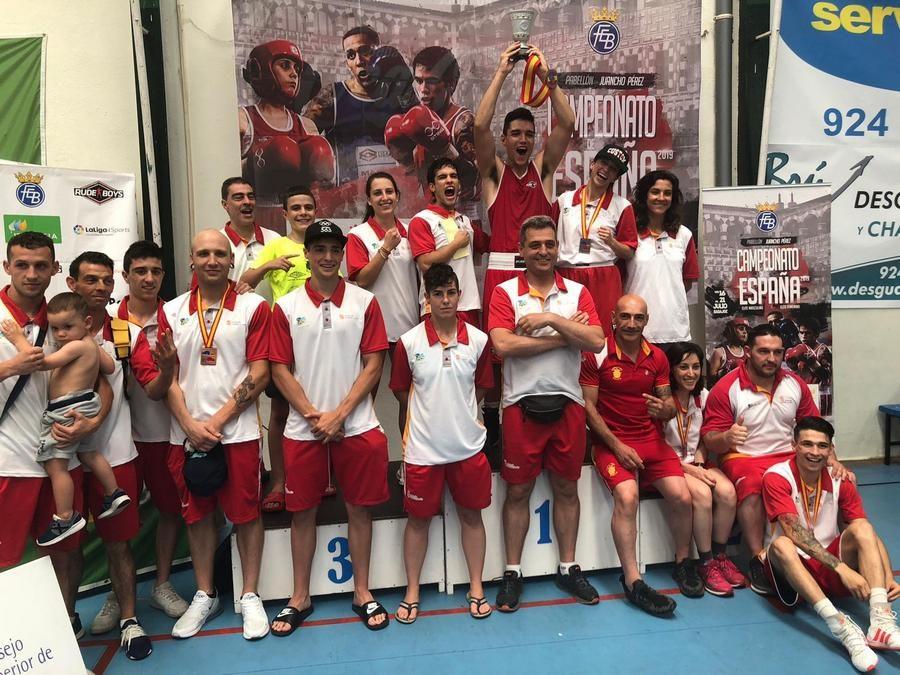 Castilla y León alza la Copa del Rey de boxeo olímpico por cuarto año consecutivo