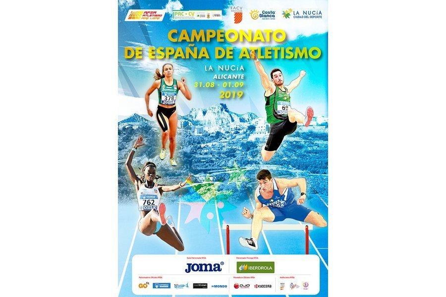 49 atletas de Castilla y León participan en el campeonato de España absoluto de Atletismo en La Nucia