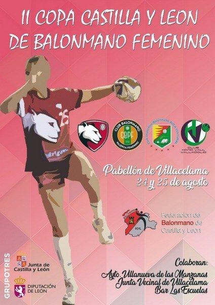 II Copa de Castilla y León de Balonmano Femenina