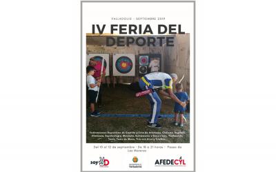 La IV Feria del Deporte de ·AFEDECYL en el magazine de La 8 de #Valladolid