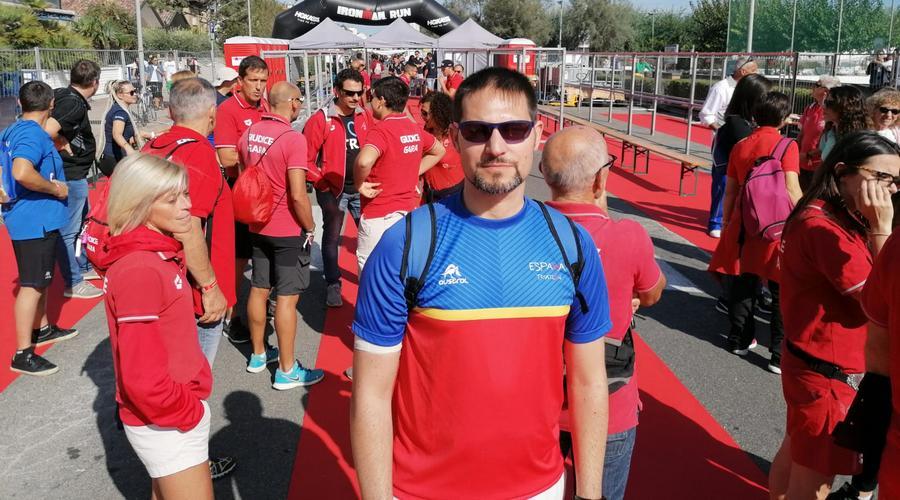 El vallisoletano Sergio de la Rosa convocado como juez internacional en el Ironman de Italia