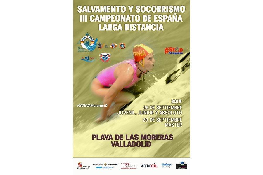 Valladolid acoge por tercer año los Campeonatos de España de Larga Distancia de Salvamento y Socorrismo