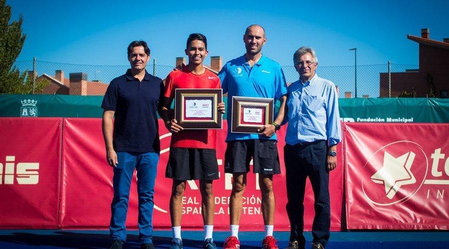 Juan Sebastián Pinzón se ha proclamado primer Campeón de España Absoluto de Touchtennis