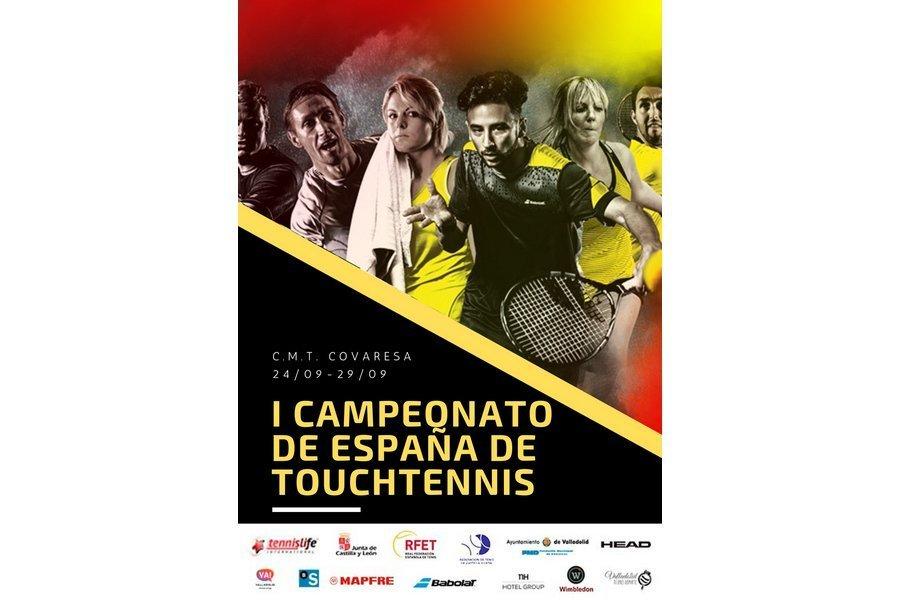 Valladolid acoge el I Campeonato Absoluto de España de TenisTouch el 28 y 29 de septiembre