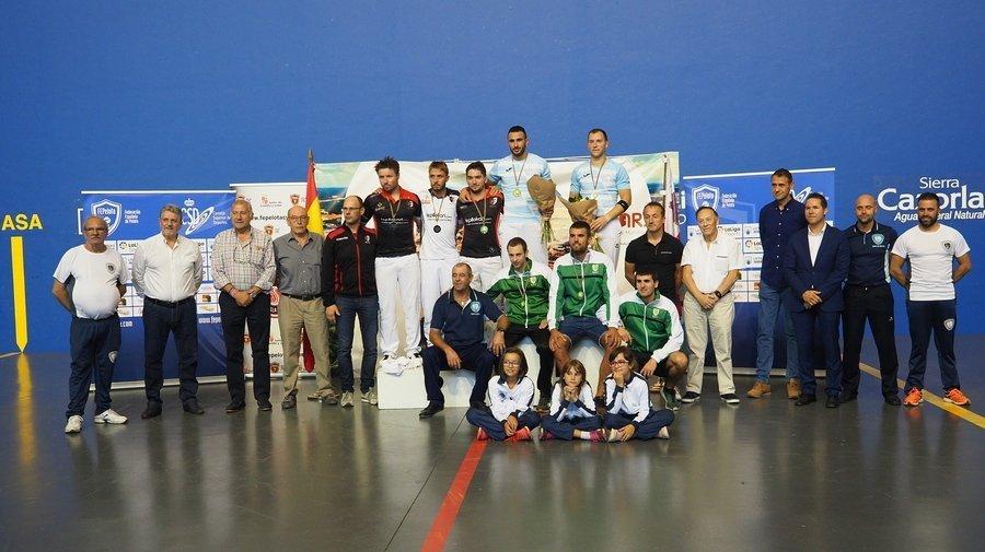 España se impone a Francia en el Europeo de Pelota ganando las finales en las cuatro especialidades