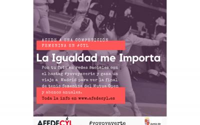 Afedecyl y la Junta impulsa la asistencia a competiciones deportivas femeninas a través de la campaña 'La Igualdad me importa'