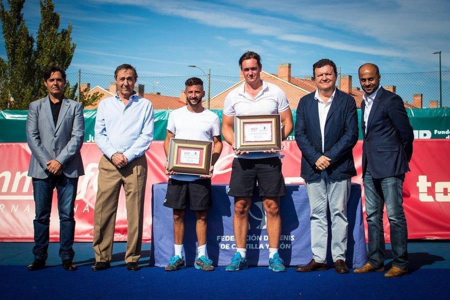 """Alex Miotto, campeón del I Grand Slam España touchtennis """"Ciudad de Valladolid – Open de Castilla y León"""""""