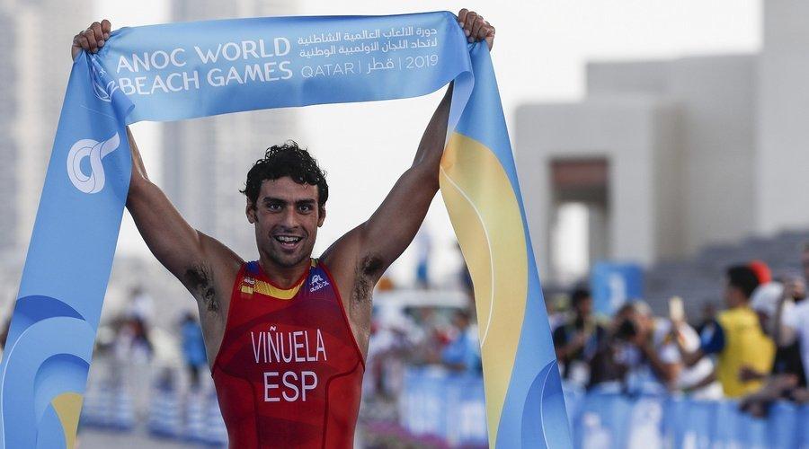 La Fetri convoca al leonés Kevin Viñuela para la Copa del Mundo de Triatlón de Lisboa